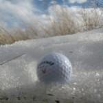 Golfen in de Winter