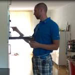Beter leren golfen in de keuken