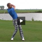 Gewicht verplaatsen in de golfswing