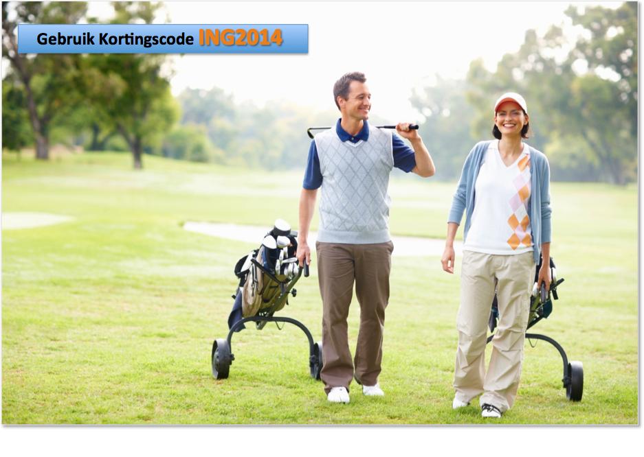 Onbeperkt Golfles Nederland Golft Golfrevolutie ING